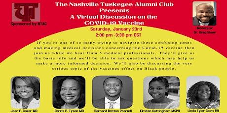 The Nashville Tuskegee Alumni Club Discussion on the COVID-19 Vaccine tickets