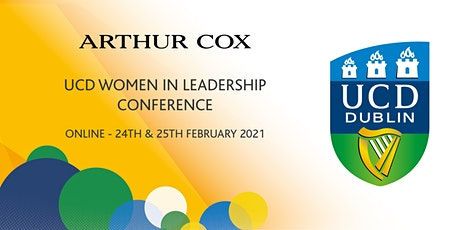 Arthur Cox UCD Women in Leadership Conference 2021 tickets