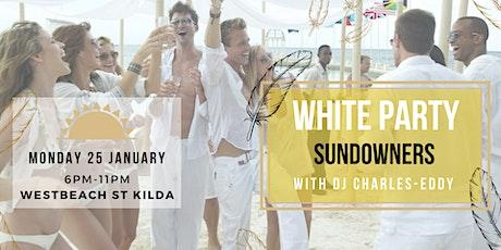 White night -Sundowners - Monday 25th of January tickets