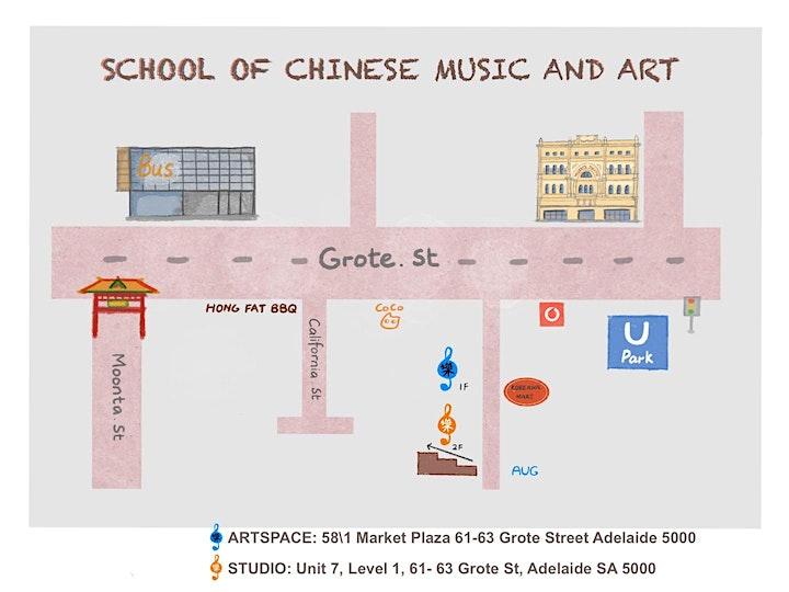 Chinese painting workshop- School holiday program image