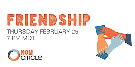 Next Gen Men Circle talks Friendship tickets