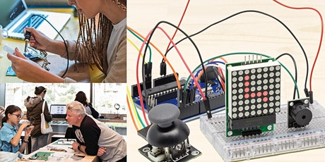 Workshop: Build your own Arduino-based Snake Game! Seniors, Adults + Kids. tickets