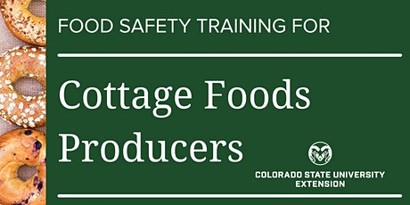 Cottage Food Safety Statewide Online Training tickets
