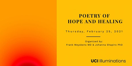 4th Annual Poetry Symposium of Hope and Healing tickets