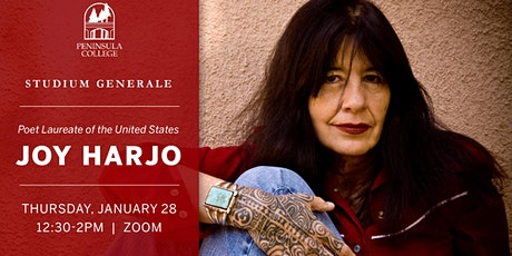 Joy Harjo at Peninsula College Studium Generale tickets