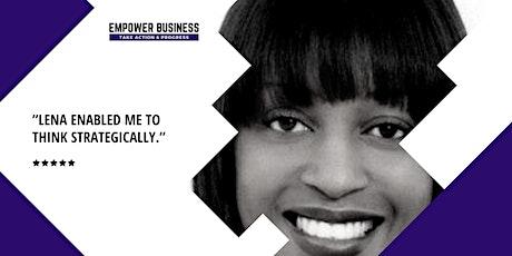 Group coaching & training w/ Lena Benjamin, MBA tickets
