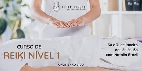 Formação em Reiki Nível 1 - por Reiki Brazil ingressos