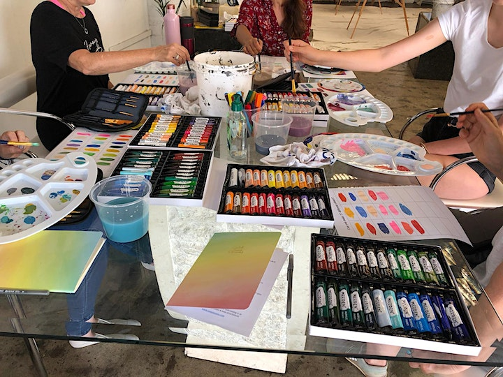 Art Therapy & Intutive Art Workshop image
