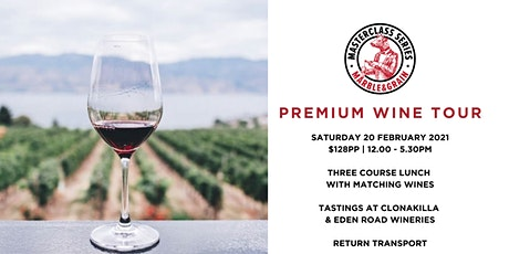 Premium Wine Tour - Clonakilla and Eden Road tickets