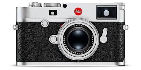 Webinar Leica M - Menüstruktur Tickets