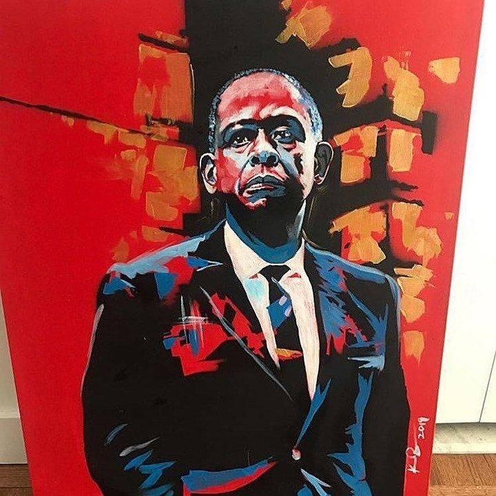 Black History Month Paint & Sip image