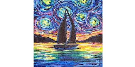 "Virtual ""Starry Night Sail"" tickets"