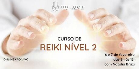 Formação em Reiki Nível 2 - por Reiki Brazil ingressos