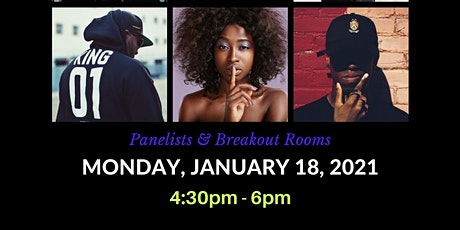 MLK DAY- Let's Talk. COVID: A conversation on Trauma, Stigma, and Grief tickets