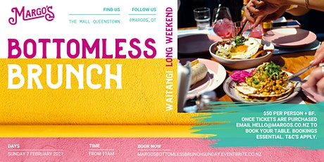 Margo's Bottomless Brunch - Waitangi Long Weekend tickets