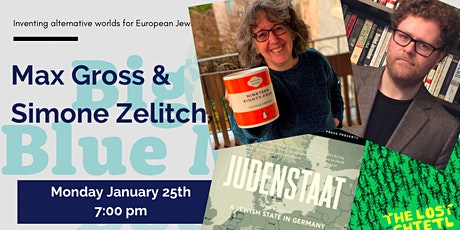 Imagining Other Jewish Worlds with Simone Zelitch and Max Gross tickets