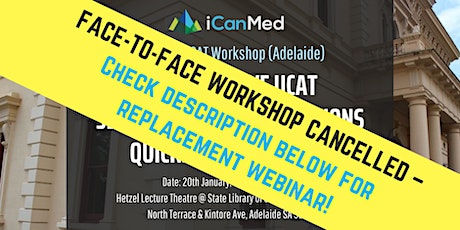 CANCELLED - Check description to register for replacement live webinar! tickets