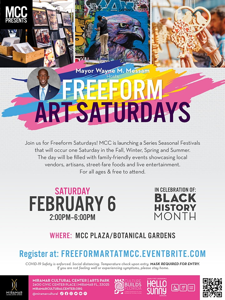 EXPERIENCE MCC: Freefrom Art Saturdays image