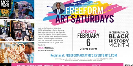 EXPERIENCE MCC: Freefrom Art Saturdays tickets