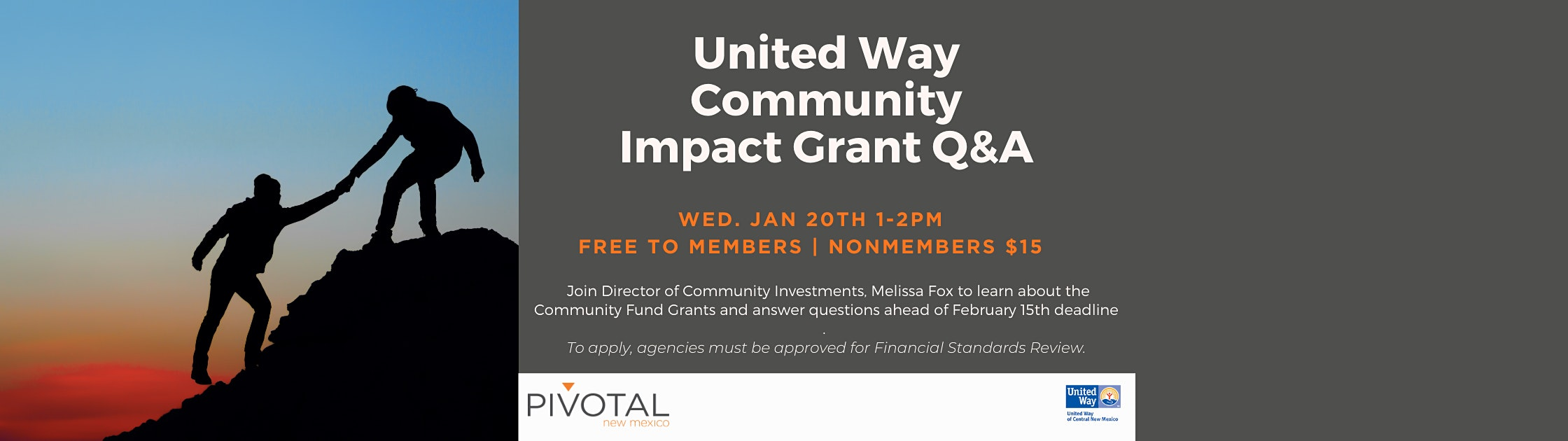 United Way Community Impact Grant Q&A