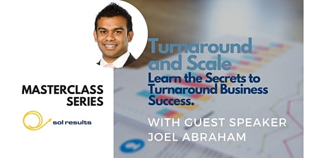 Masterclass Series | Turnaround and Scale tickets