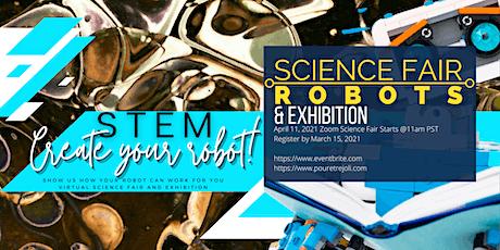 Virtual Science Fair & Exhibition:  Robots tickets