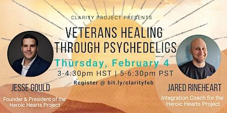 Veterans Healing Through Psychedelics tickets