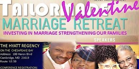 TAILORMADE MARRIAGE VALENTINE GETAWAY Hyatt Regency on the Chesapeake Bay tickets