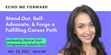 Stand Out, Self Advocate, & Forge A Fulfilling Career Path tickets