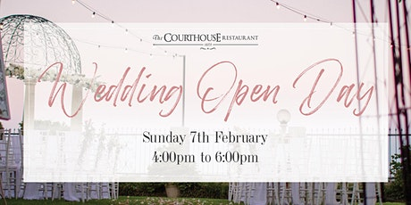Wedding Open Day 2021 tickets