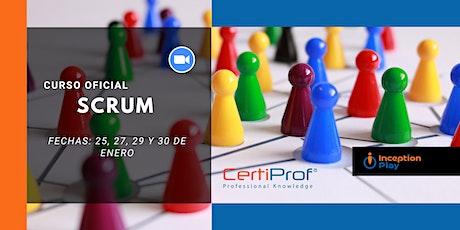 Curso Online Oficial de Scrum - Certiprof boletos
