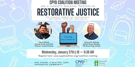 CPYD Coalition Meeting & Restorative Justice Training tickets