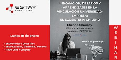 Innovación, Desafíos y Aprendizajes  (Vinculación Universidad - Empresa) boletos
