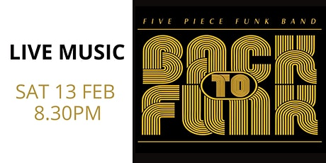 Back to Funk tickets
