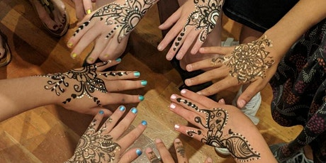 60min  Special Henna Painting Event @2PM - Week 1(Ages 5+) tickets