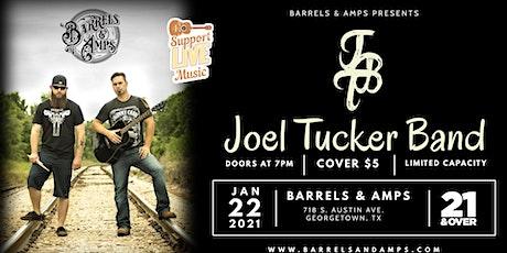 Joel Tucker Band Live at Barrel's & Amps tickets