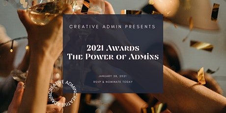 The Power of Admins 2021 Awards tickets