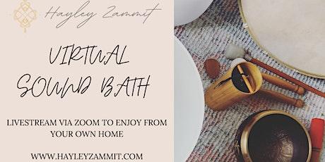 60min Virtual Sound Bath tickets