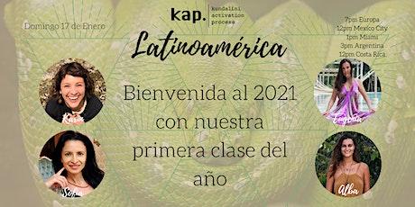 KAP LATINOAMERICA Virtual Open Class - 17 de Enero 2021 - Shakti Power entradas