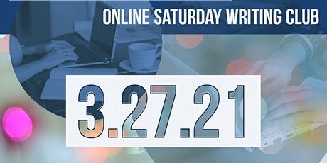 Online Writing Club - Saturday, March 27 tickets