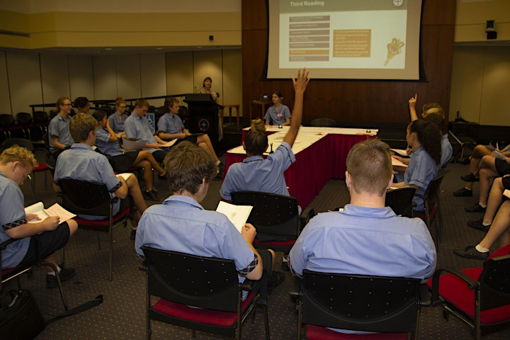 Queensland Parliament Education Program - Years 10-12 image