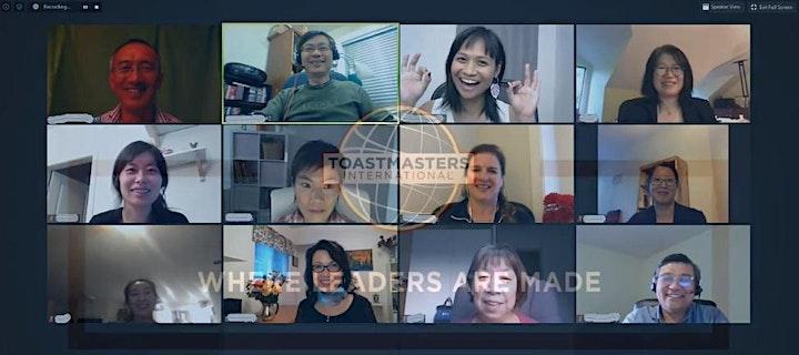 Community Impact Speakers Advanced Toastmasters image