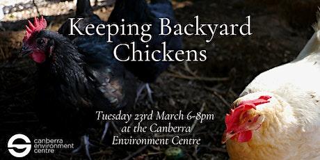 Keeping Backyard Chickens tickets