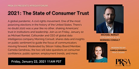 2021: The State of Consumer Trust tickets