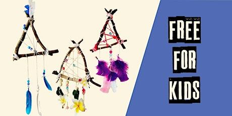 FREE Kids art workshop tickets