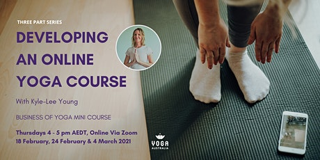 Developing an Online Yoga Course tickets