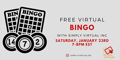 Fun and Free Virtual Bingo (Yes, it's really free...) tickets
