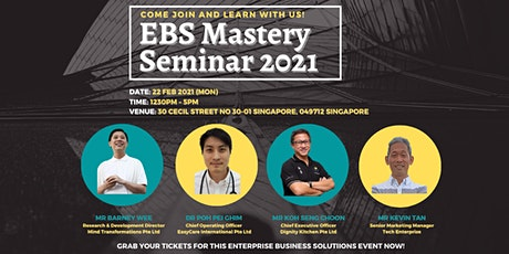 EBS Mastery Seminar 2021 (Physical Tickets) tickets