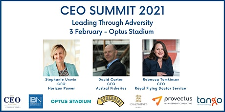 The CEO Institute Summit WA - Leading Through Adversity tickets