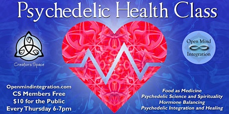 Psychedelic Health Class tickets